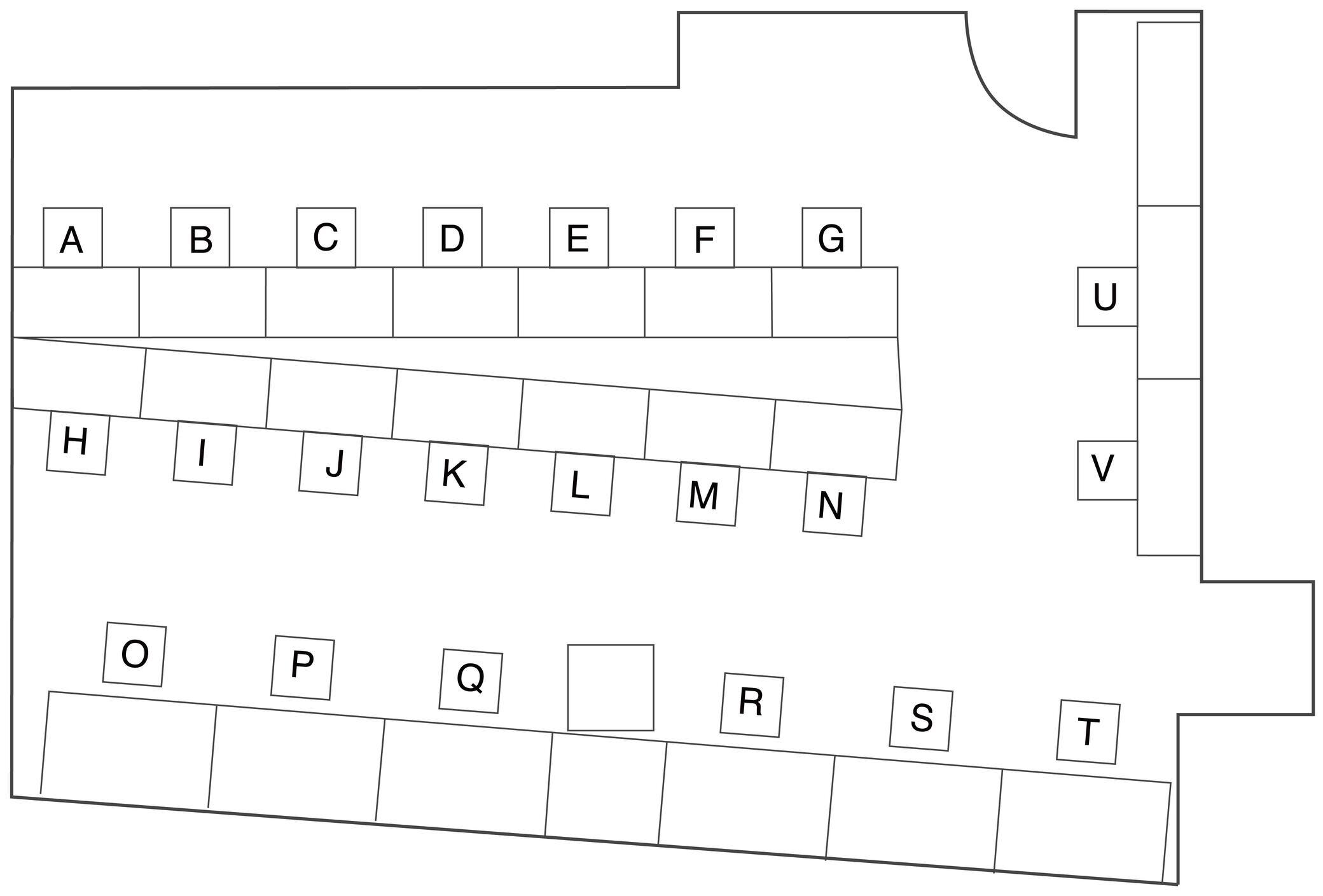 サイレントフロアマップ